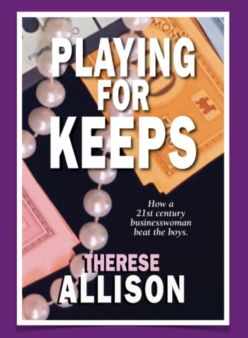 Playing for Keeps Book Cover Vertical Therese Allison