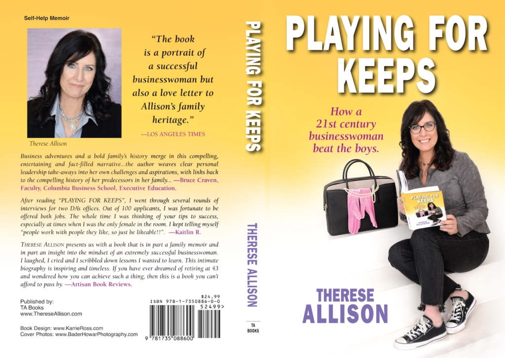 Therese Allison Playing for Keeps in Business Full Cover