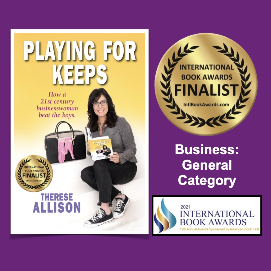 Therese Allison Playing for Keeps International Book Award