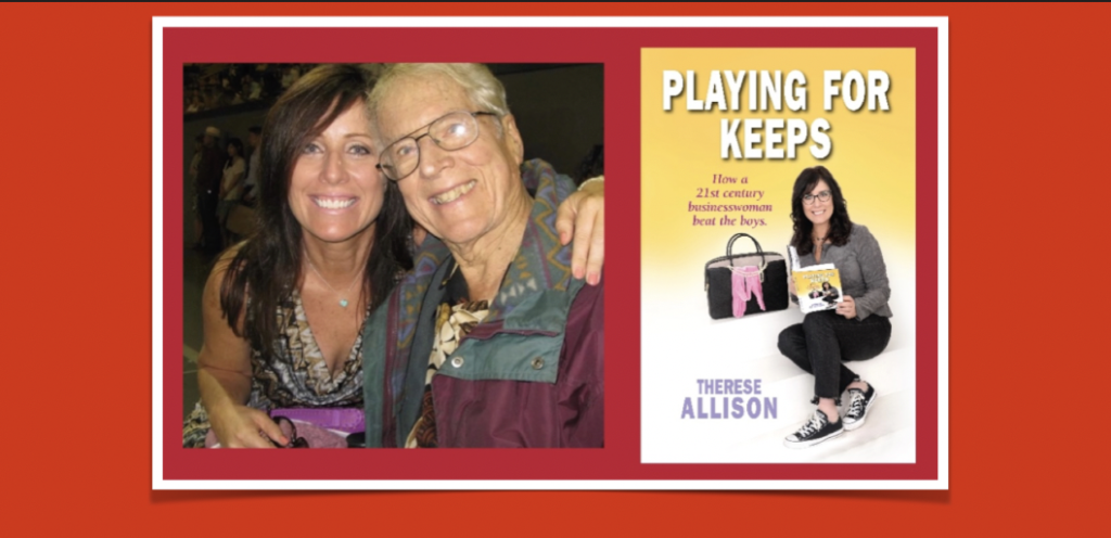 Therese Allison Playing for Keeps Books Synchronicity